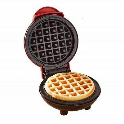 Mini Waffle Maker Individual Hash Browns Breakfast