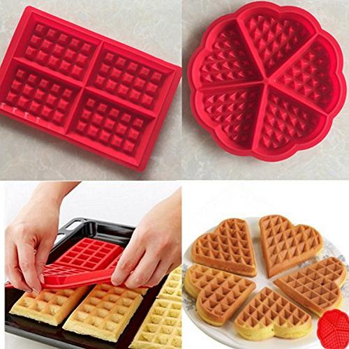 family silicone waffle mold maker