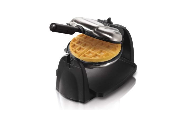 Hamilton Beach Flip Belgian Waffle Maker,Irons, Removable Pl