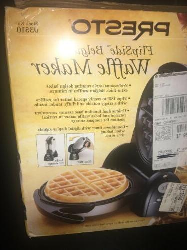 Presto FlipSide Belgian Waffle Maker with - BRAND NEW