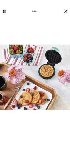"""Flower Waffle Maker 4"""" Electric Appliance Keto Diet"""