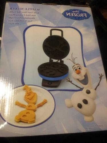 Disney Frozen Own Waffle! Non-Stick Iron Waffle