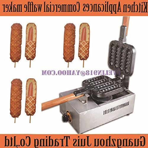 gas commercial lolly waffle maker