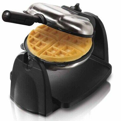 hamilton beach removable grid flip belgian waffle
