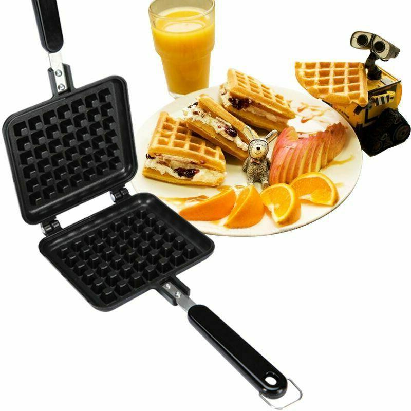 home kitchen non stick waffle maker pancake