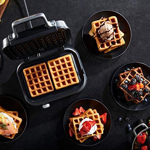 Calphalon Intellicrisp Waffle Maker, Dark