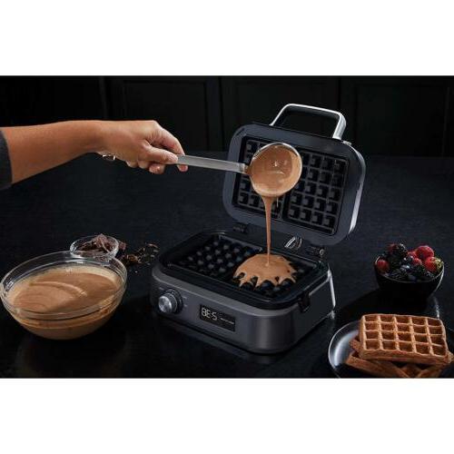 Calphalon Waffle Dark Stainless