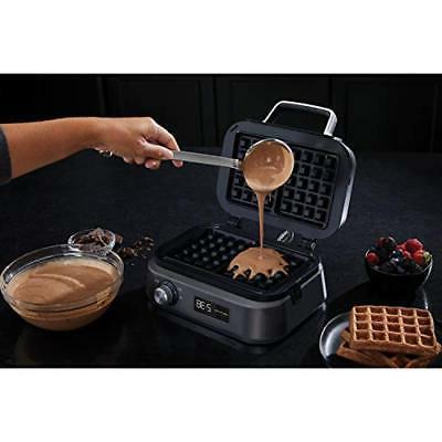 Calphalon Intellicrisp Waffle Maker, Dark Stainless Steel TAXFREE