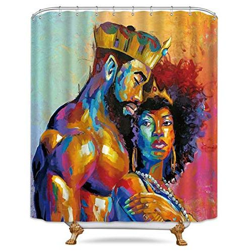 king african american lovers couple