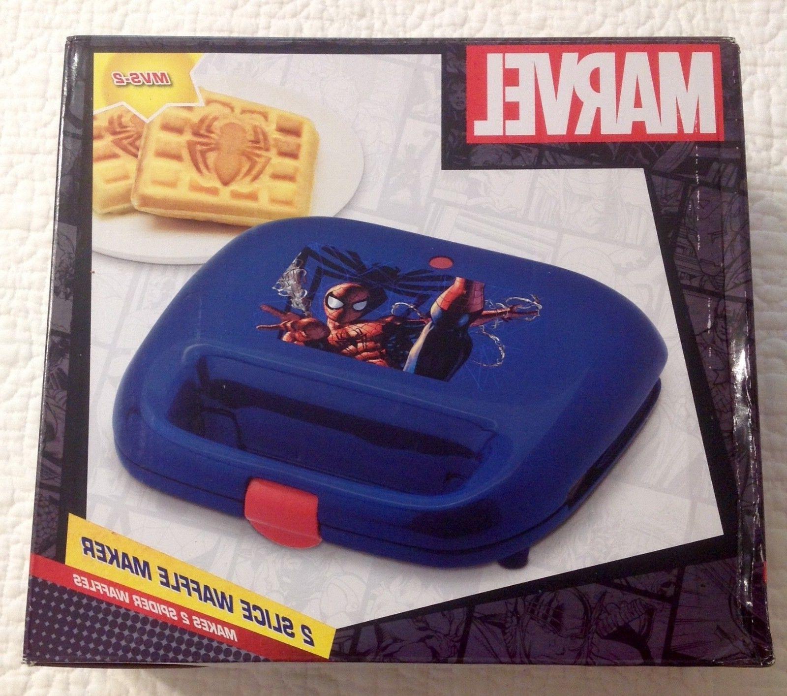 Marvel Comics•Spider Man•2 Slice Waffle Maker NEW IN BOX