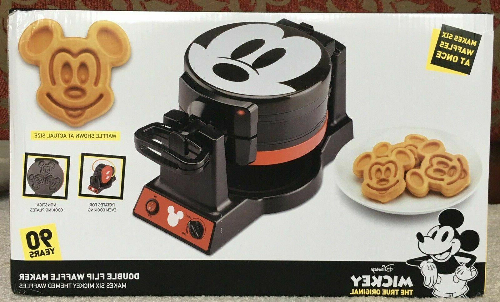 mickey double flip waffle maker 90th limited