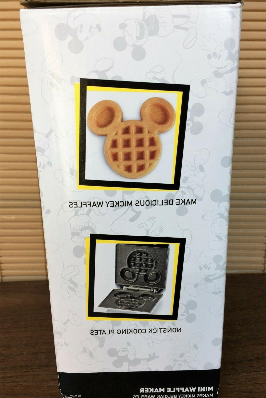 DISNEY Mini Belgian Waffle NEW 90th