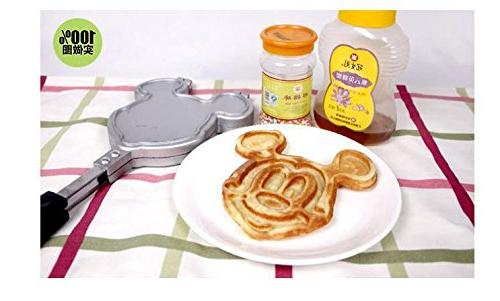 mickey waffles maker mold waffle