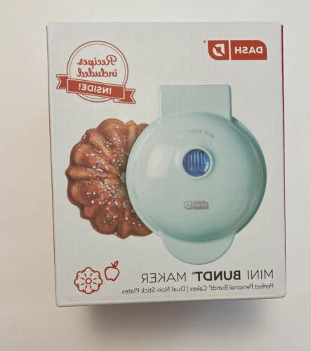 mini bundt maker mint green new