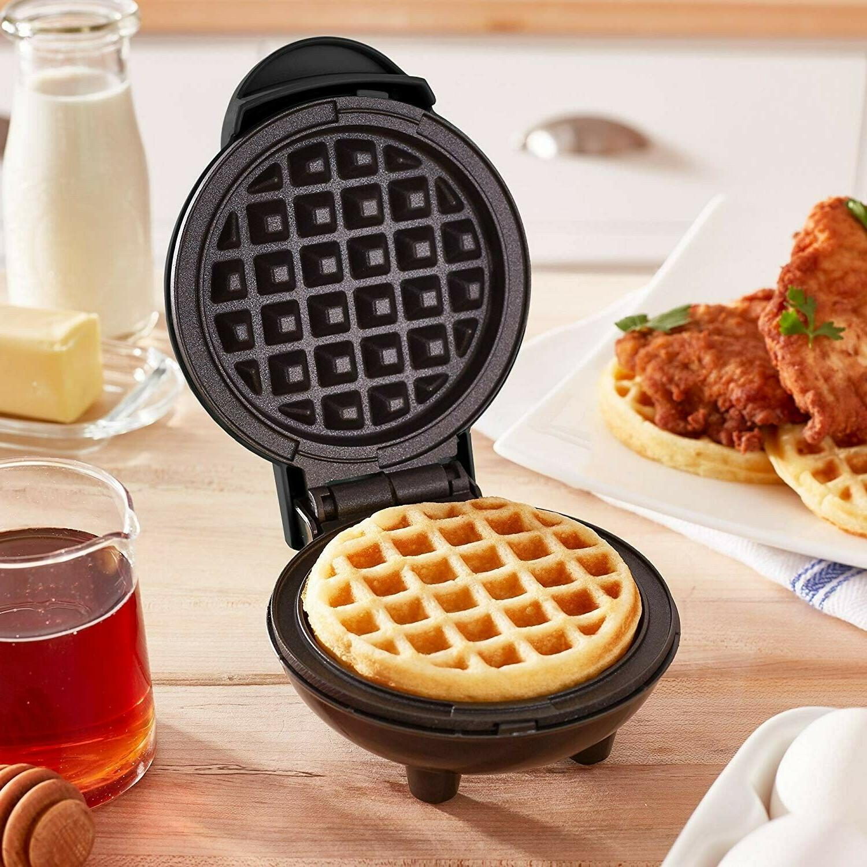 Mini Electric Round Pancake Maker Dash Griddle Non Stick