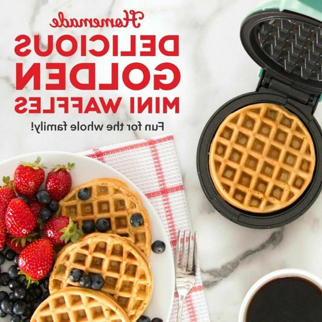 Dash New Mini Waffle Machine for Panini
