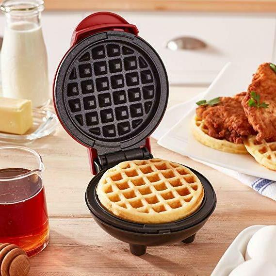 Dash Mini Waffle Maker Waffles Hash