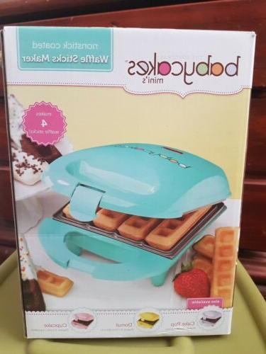mini nonstick coated waffle sticks maker pet
