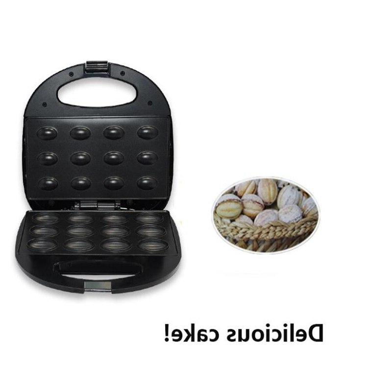Mini Sandwich Baking Electric Walnut Cake Automatic Mini Nut <font><b>Waffle</b></font>