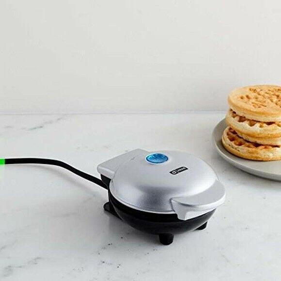 Dash Mini Waffle Maker in Inside