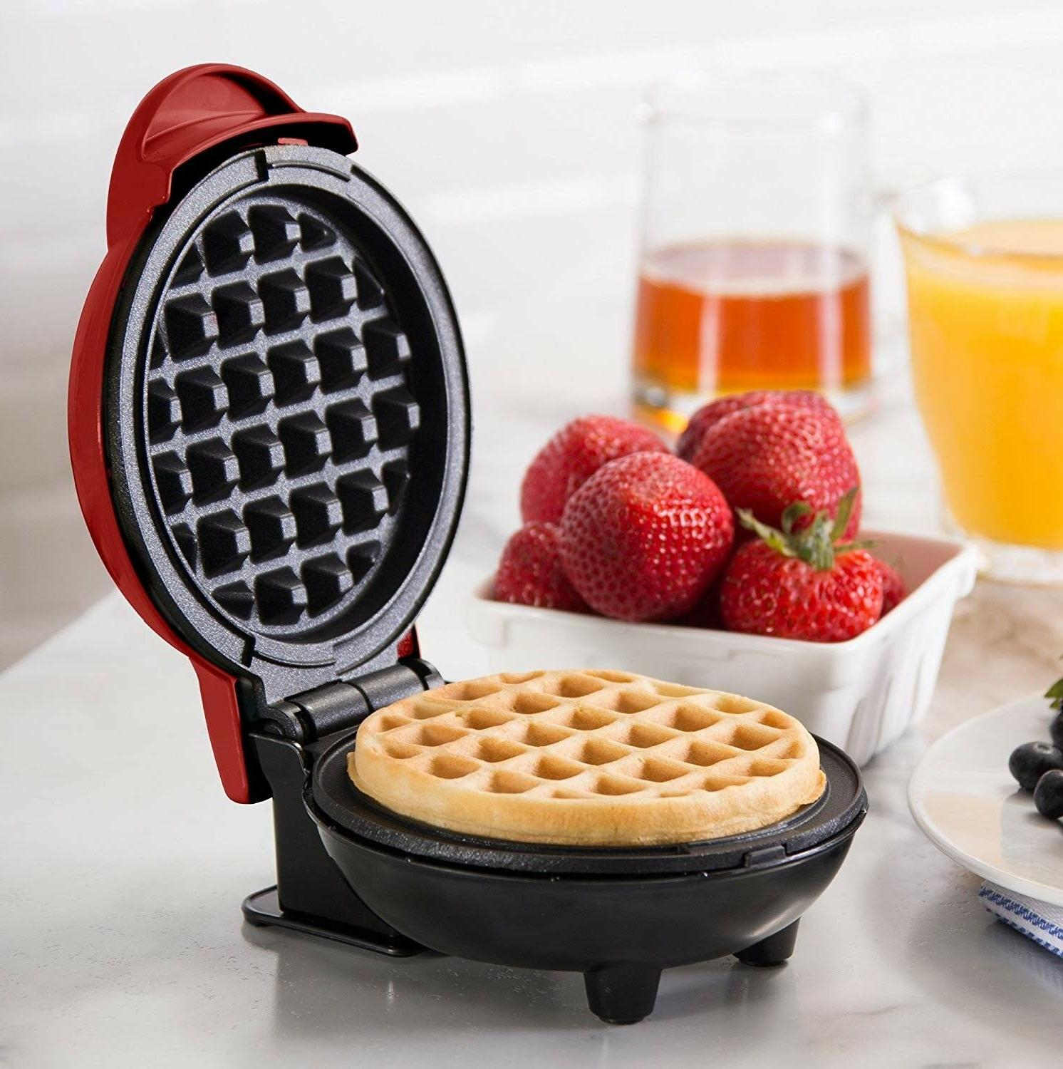 Mini Waffle Individual Kids Press Hash Snacks Breakfast