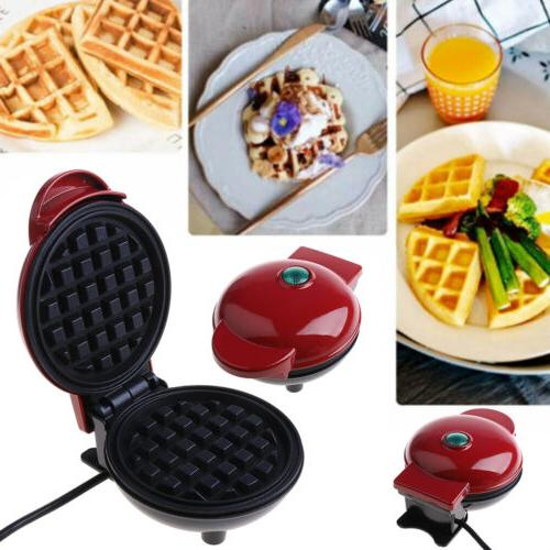mini waffle maker machine classic breakfast individual