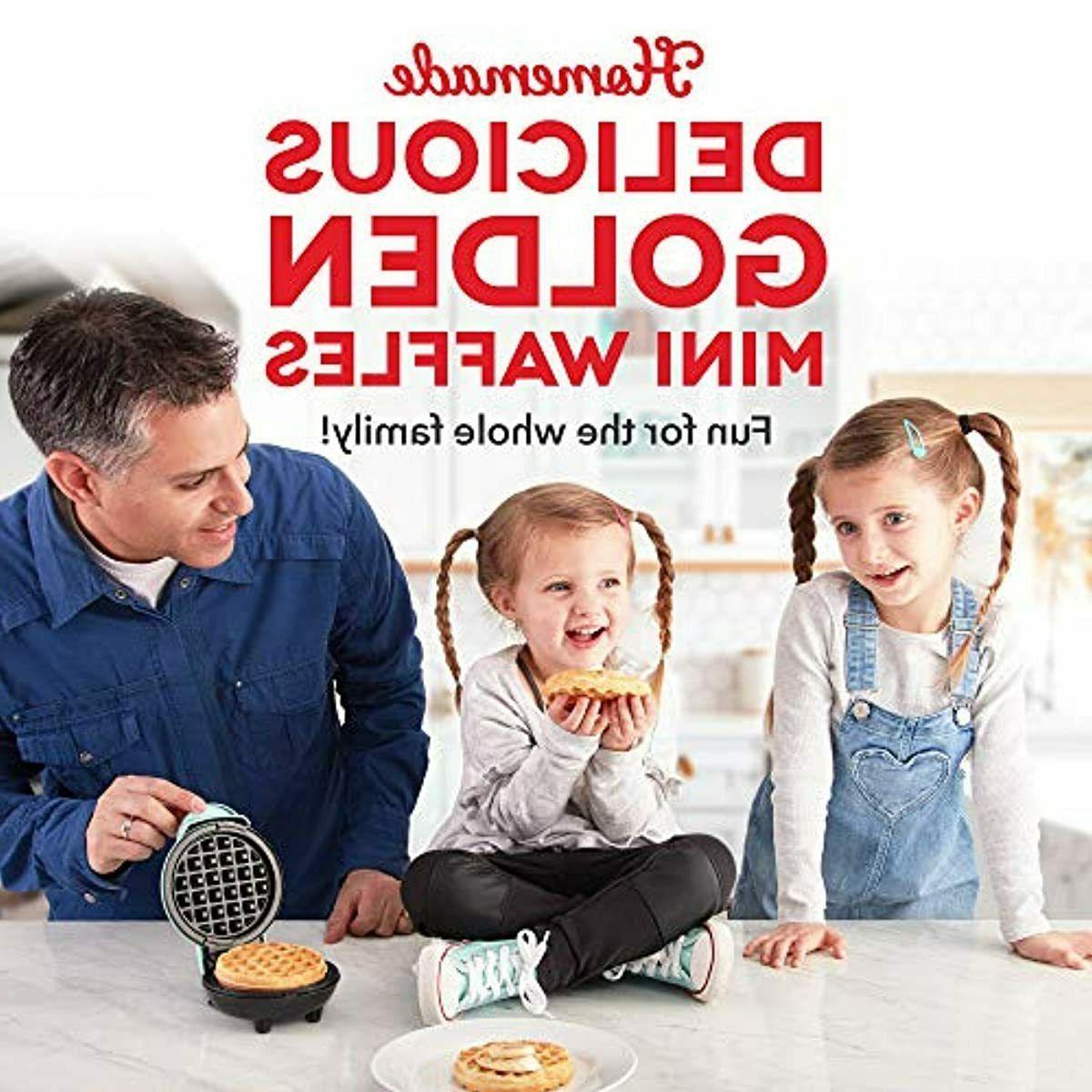 Dash Mini Waffle Machine Waffles Browns 350-Watts