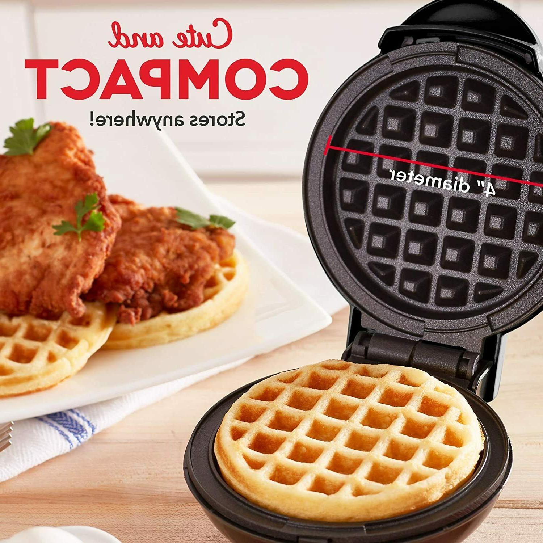 Mini Round Waffles