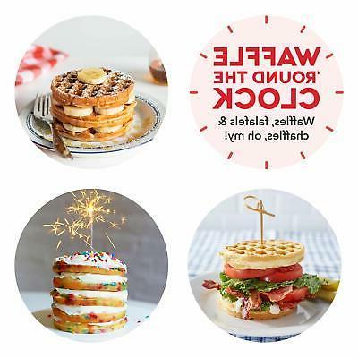 Dash Mini Waffle Machine Breakfast Snacks