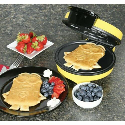 Minions Waffle Iron - Kitchen Appliance