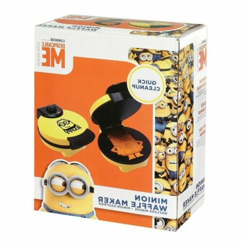 Minions Dave Waffle Iron Kitchen Appliance -