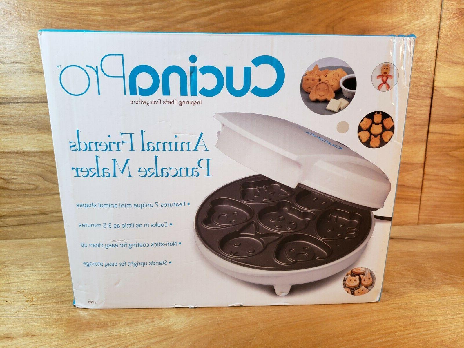 new cucina pro animal mini waffle maker