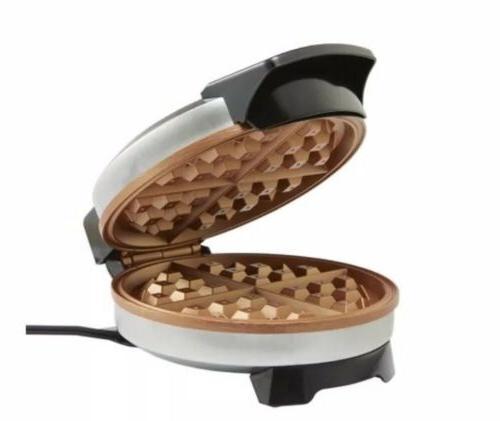 NEW Farberware Copper Waffle Maker Iron Breakfast Dessert