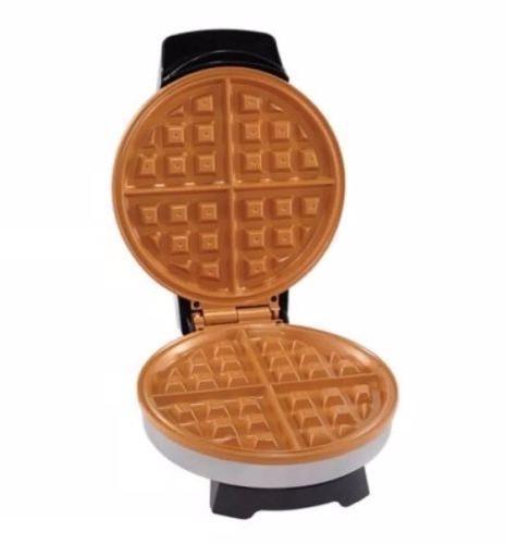 new non stick copper waffle maker iron