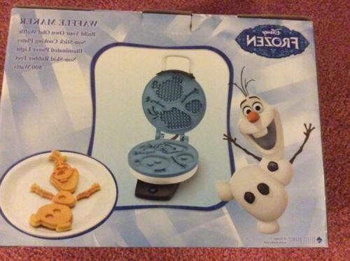 NEW Waffle Iron Snowman movie Sleepover