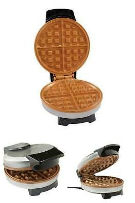 Farberware Non-Stick Copper Waffle Maker Iron Griddle Breakf