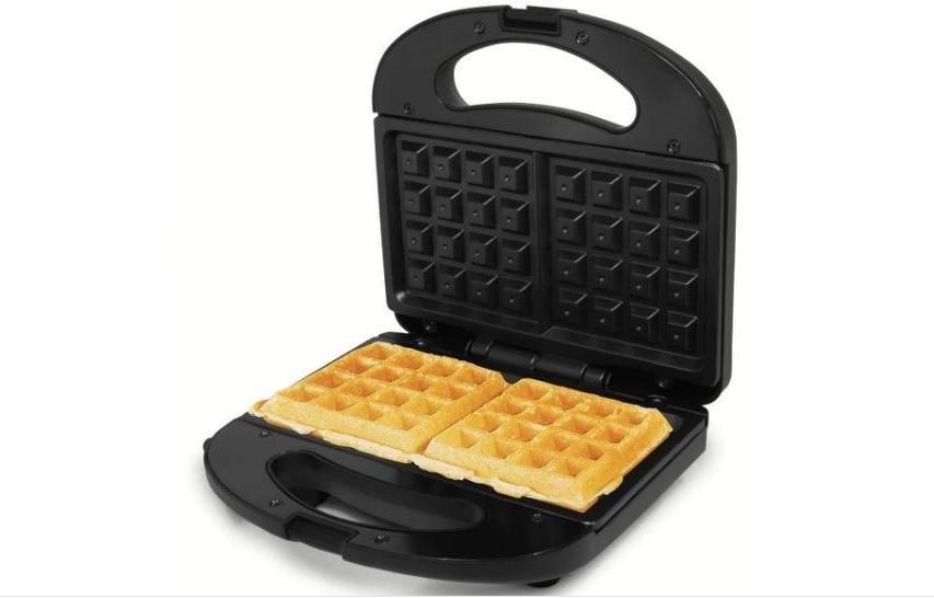 non stick electric waffle maker black color