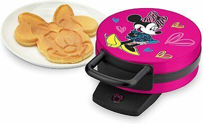 non stick mickey minnie waffle maker brand