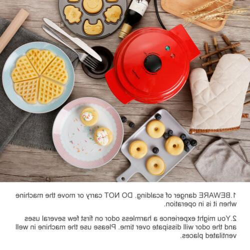 3 1 Maker Non-Stick Iron For Waffles Cakes