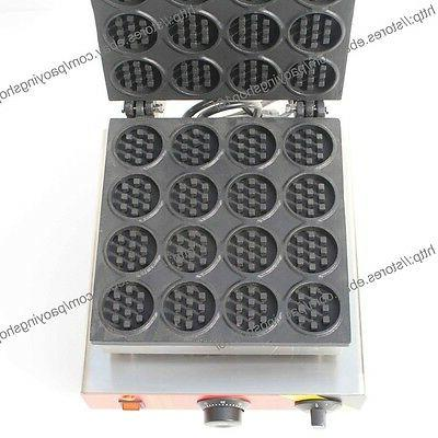 Generic Nonstick 110v Electric Mini Round Waffle Maker
