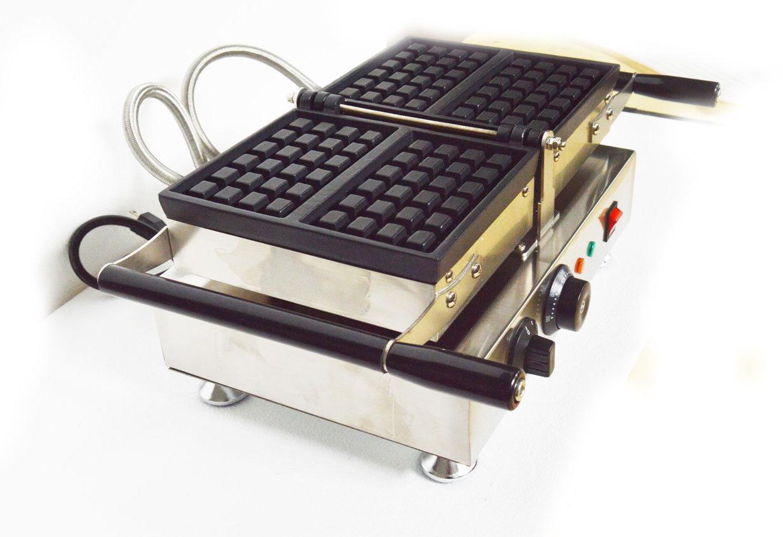 Nonstick Waffle Machine Belgian Baker Maker Iron 110V 2pcs