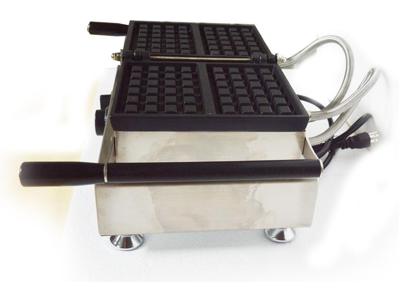 Nonstick Waffle Belgian Waffle Iron Machine 2pcs