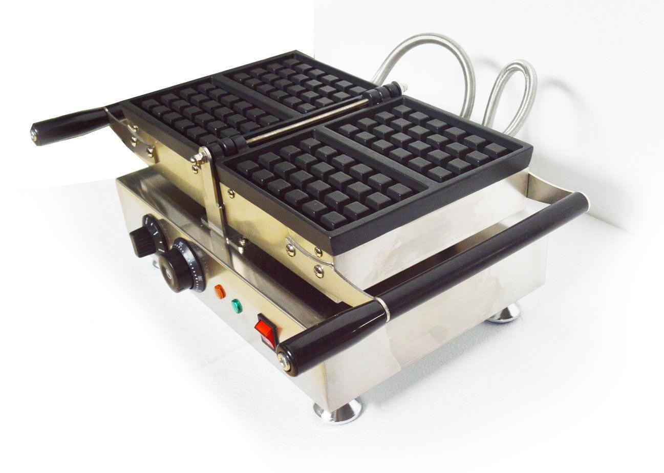 Nonstick Waffle Square Belgian Iron Machine