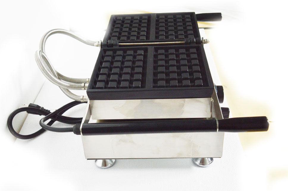 Nonstick Waffle Iron Machine 110V 2pcs