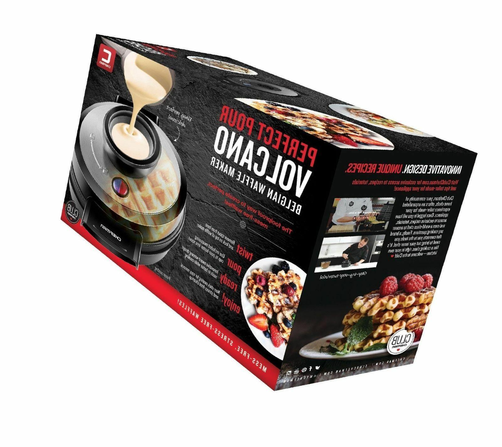 Chefman Pour Belgian Waffle Maker *New*