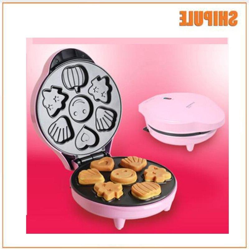 pink Cake <font><b>Maker</b></font> Home Breakfast Machine Multi-function