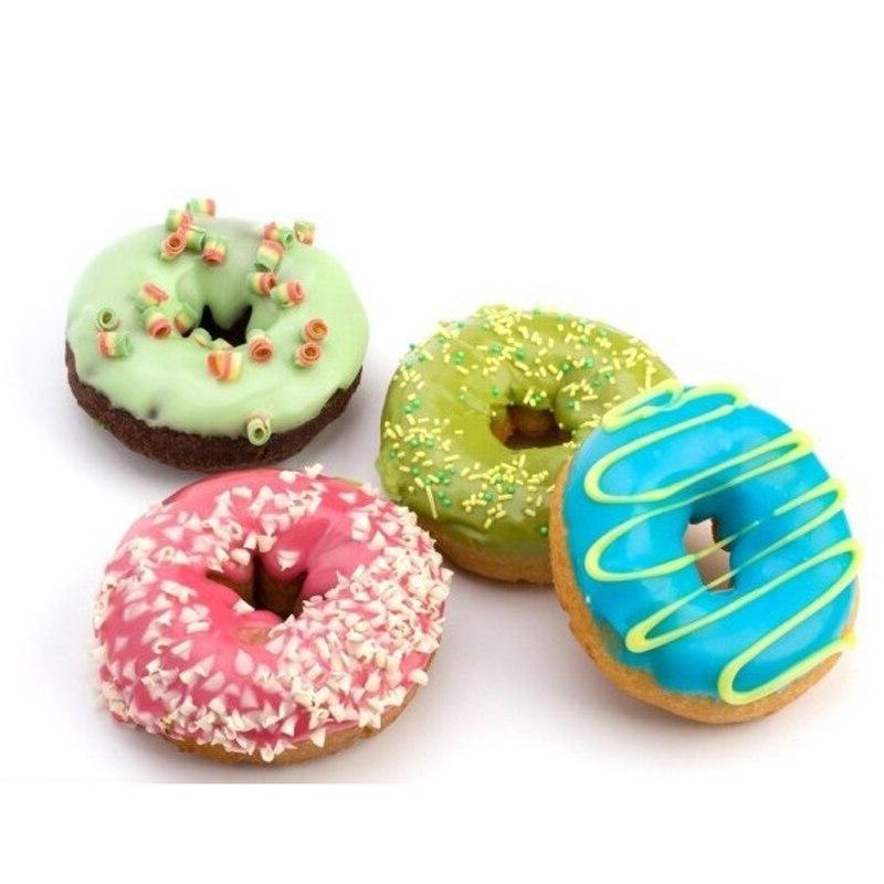 Plastic Donuts <font><b>Maker</b></font> Dessert Dispenser Donuts Easy Fast Portable Gadget Kitchen Tools