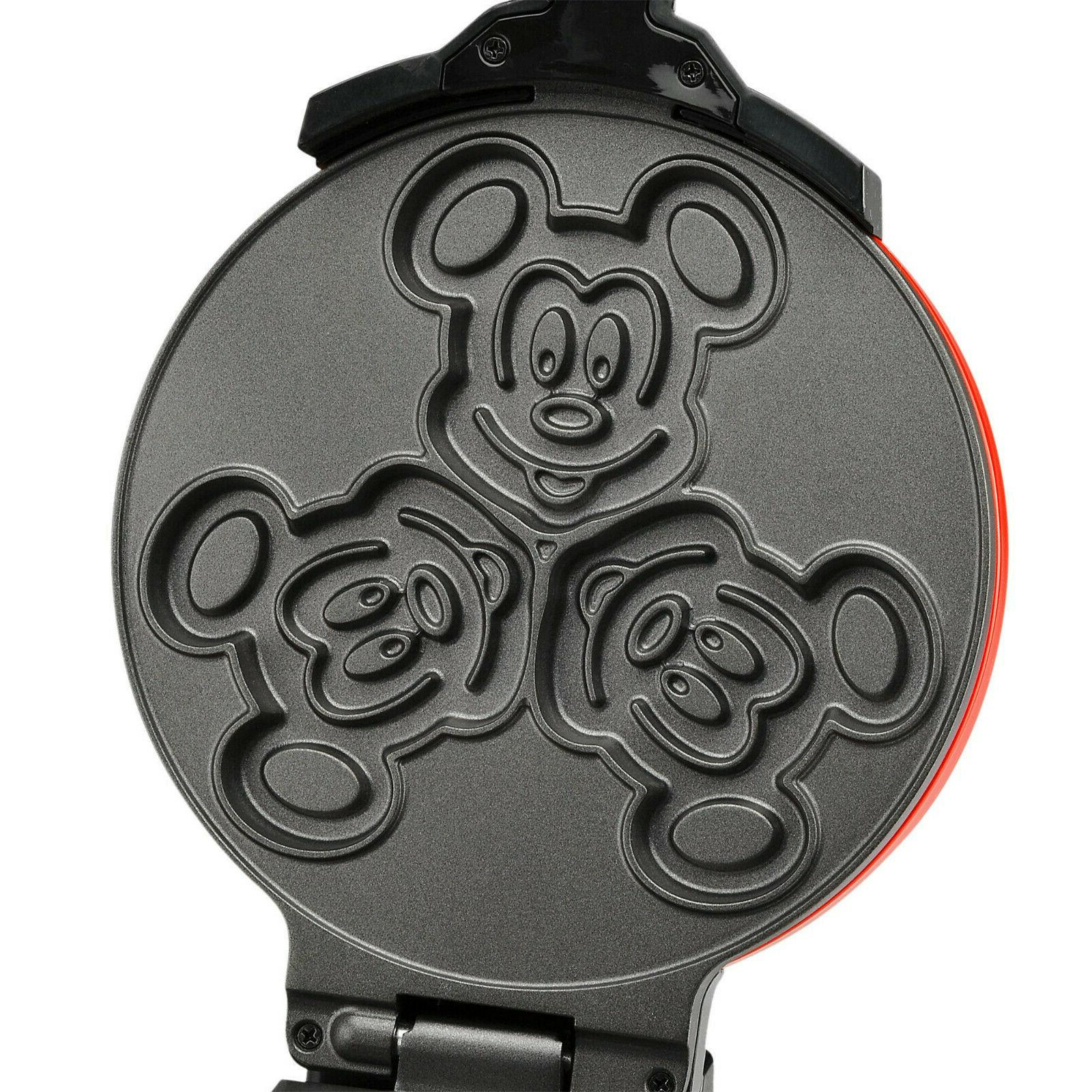 IN Authentic Mickey Flip Waffle Maker