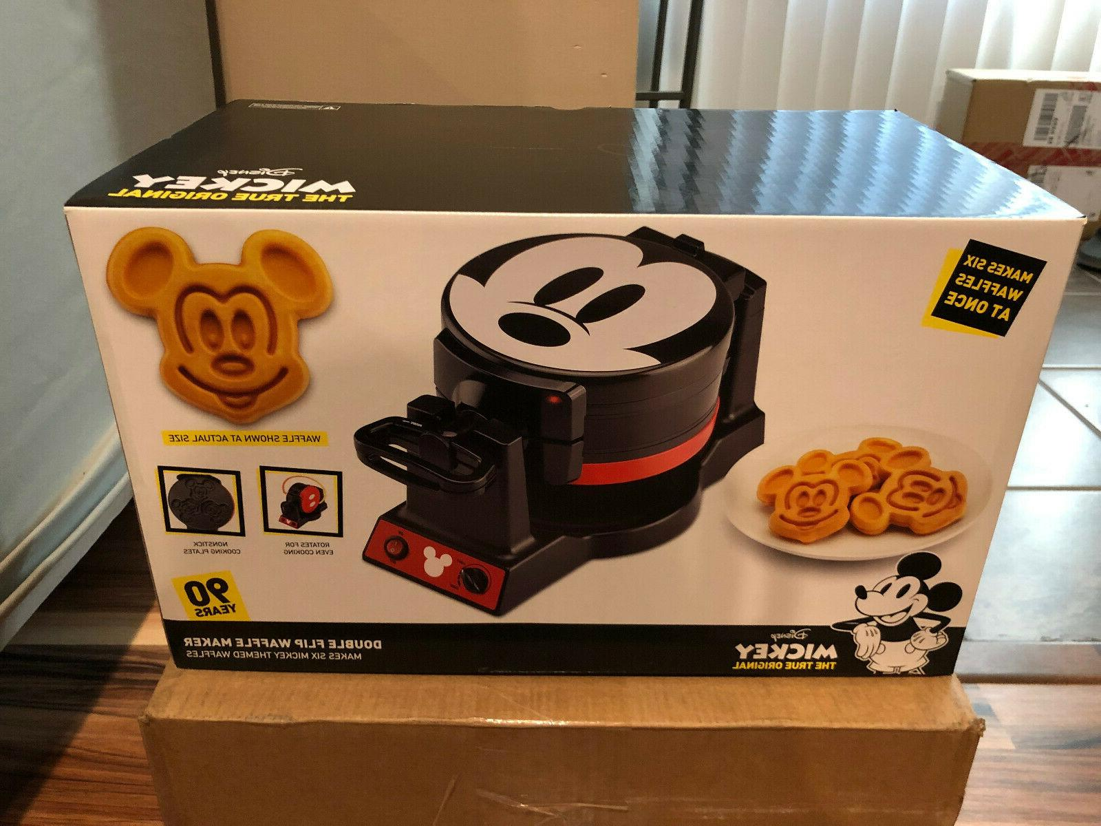 presale authentic mickey mouse double flip waffle