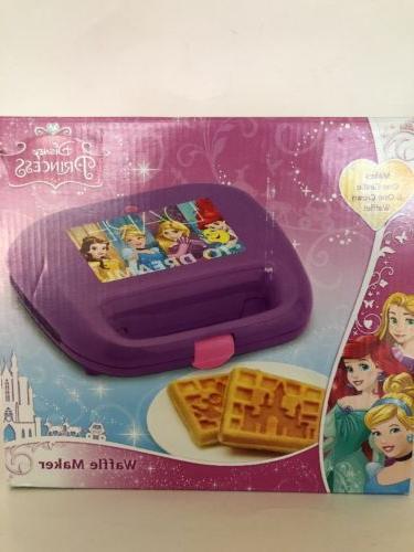 Disney Princess Waffle Maker, Size,